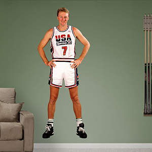 Larry Bird: 1992 Dream Team Fathead Wall Decal